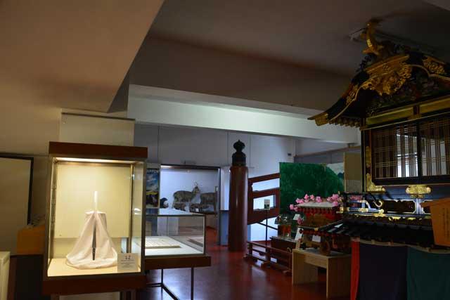 日光二荒山神社 宝物館
